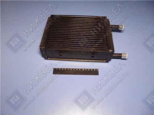Радиатор отоп 3302 медн 3-х рядн 16мм