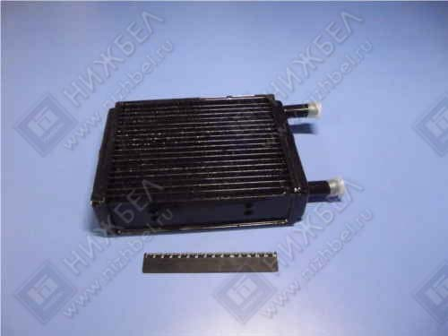 Радиатор отоп 3302 медн 3-х рядн 18 мм н/обр