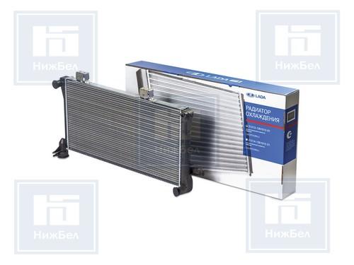 Радиатор охлаж 2108, 83, 21099, 2114, 2115 алюм инжектор (ДЗР) фирм.упак. (2108-1301012) 2108-02-1301012-000 21082130101200
