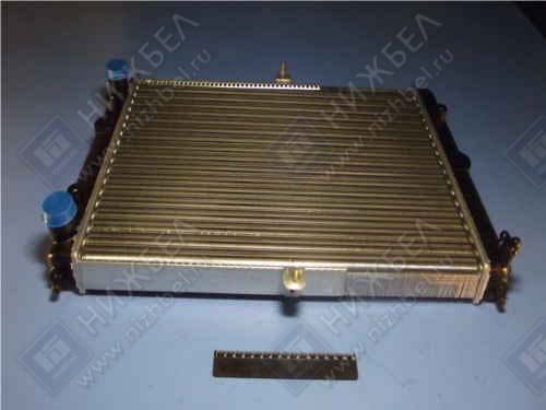 Радиатор охлаж 2108, 83, 21099, 2114, 2115 алюм инжектор