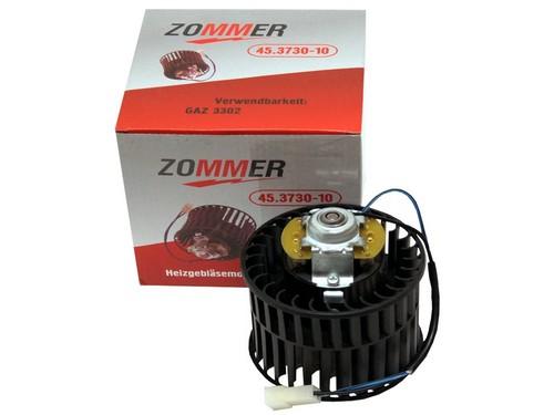 Мотор печки 3302,3110,2108-09 в сб н/о 12 В ZOMMER 45-0-0003730-010 45373010